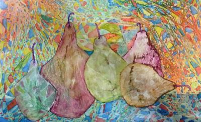 Pear-a-dice Print by Isaac Alcantar