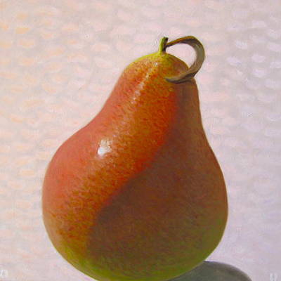 Pear Painting - Pear Autumn - 3 Of 4 In A Series by Don Young