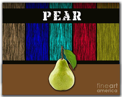 Pear Print by Marvin Blaine
