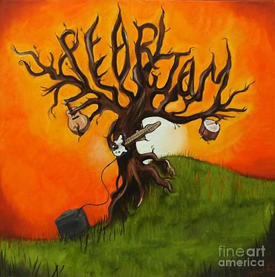 Pearl Jam Tree Print by Tarah Davis