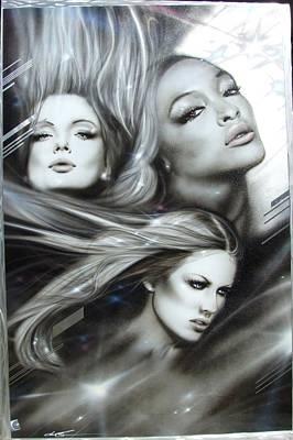 Women - 'pearl Passions' Print by Christian Chapman Art