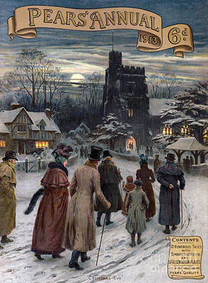 Pears Annual 1913 1910s Uk Cc Villages Print by The Advertising Archives