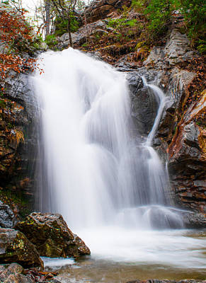 Raging Photograph - Peavine Falls At Oak Mountain State Park by Shelby  Young
