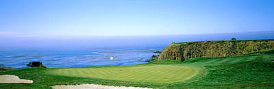 Putting Photograph - Pebble Beach Golf Course, Pebble Beach by Panoramic Images