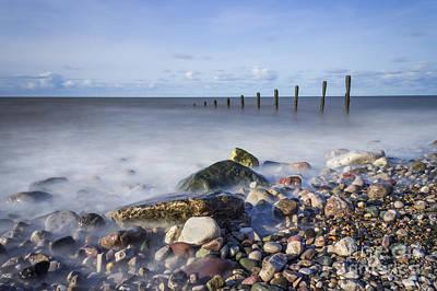 Pebble Beach Print by Ian Mitchell