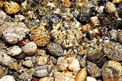 Pebbles Print by Eleni Mac Synodinos