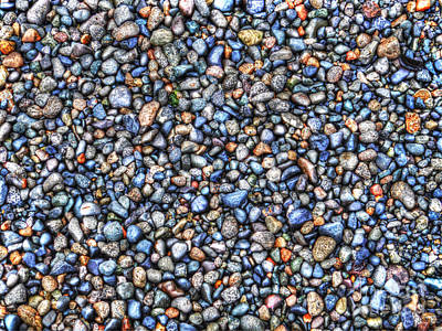 Pebbles Print by Jim Wright