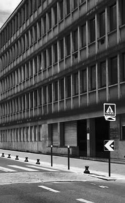 Pedestrian Crossing Print by Arkady Kunysz