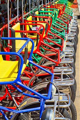 Pedicars Print by Bernard  Barcos