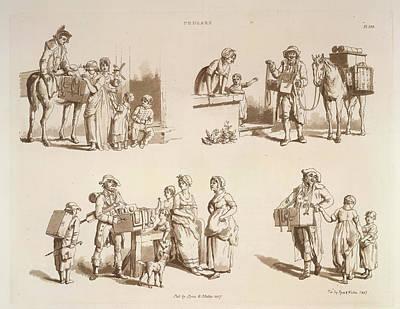 Microcosm Photograph - Pedlars by British Library