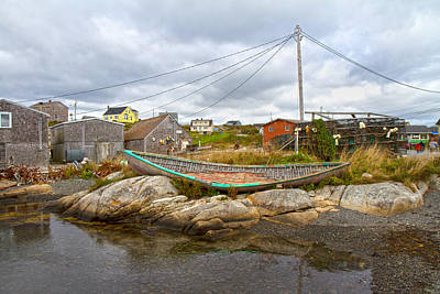 Net Photograph - Peggy's Cove 10 by Betsy Knapp