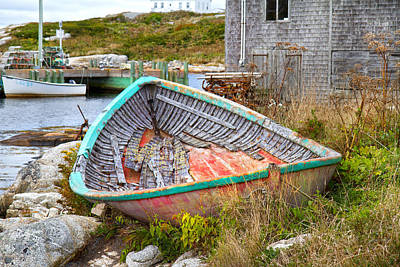 Net Photograph - Peggy's Cove 11 by Betsy Knapp