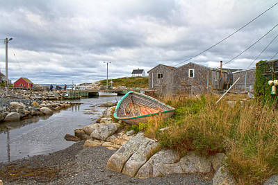 Net Photograph - Peggy's Cove 12 by Betsy Knapp