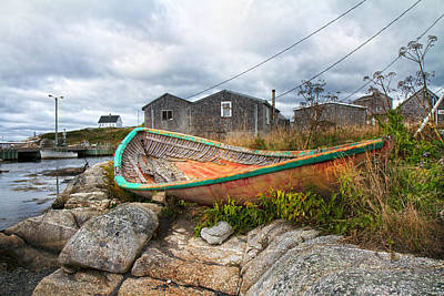 Net Photograph - Peggy's Cove 13 by Betsy Knapp