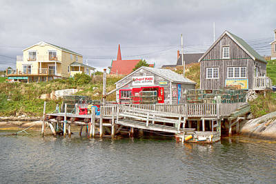 Net Photograph - Peggy's Cove 7 by Betsy Knapp
