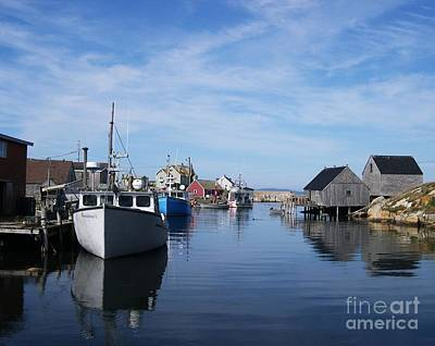 Fishing Shack Photograph - Peggys  Cove by Mel Steinhauer