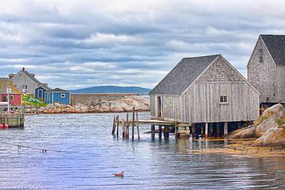 Fishing Shack Photograph - Peggy's Paradise by Betsy Knapp