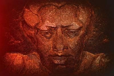 Pele Digital Art - Pele In Heat by Lori Seaman