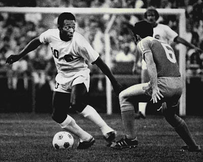 Pele Photograph - Pele by Retro Images Archive