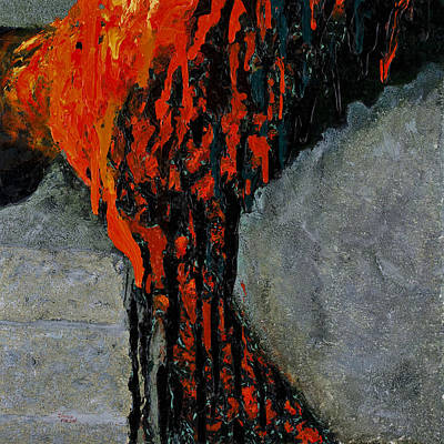 Pele Painting - Pele's Passion by Darice Machel McGuire
