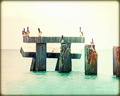 Pelican Bridge I Original by Chris Andruskiewicz