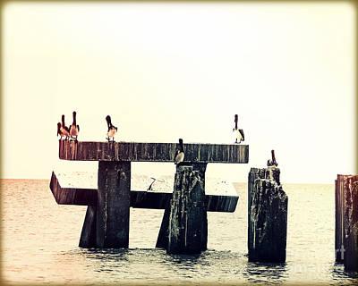 Pelican Bridge II Original by Chris Andruskiewicz