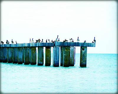 Pelican Bridge IIi Original by Chris Andruskiewicz
