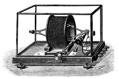 Pellat Electrodynamometer Print by Science Photo Library
