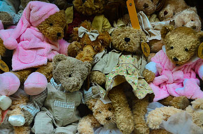 Teddie Photograph - Teddy Bear by Dany Lison