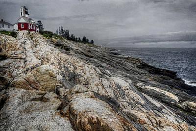 Landscape Photograph - Pemaquid Light by Joan Carroll