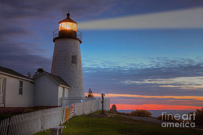 Pemaquid Point Light Viii Print by Clarence Holmes