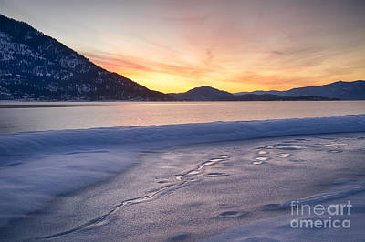 Pend Oreille Dawn Print by Idaho Scenic Images Linda Lantzy