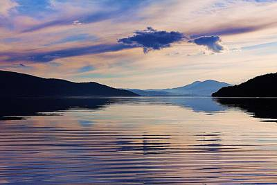 Pend Oreille Peace Print by Benjamin Yeager