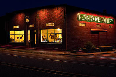 Penn Cove Pottery Print by Thomas Hall Photography