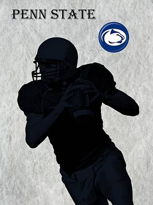 Michigan State Digital Art - Penn State Football by David Dehner