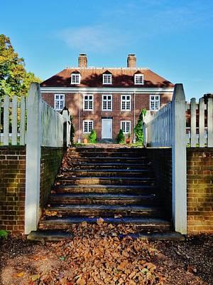 Pennsbury Photograph - Pennsbury Manor by Greg Kear