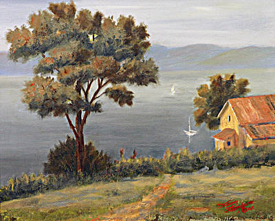 Penobscot Bay Painting - Penobscot Bay Maine by Tommy Thompson