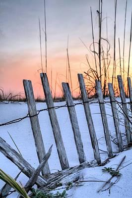 Pensacola Beach Sands Print by JC Findley