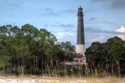Pensacola Beach Photograph - Pensacola Lighthouse by JC Findley