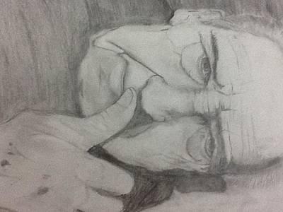Pensive Original by Gerald Junco