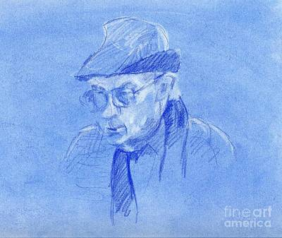 Whistler Drawing - Pensive by Whistler Kenworthy
