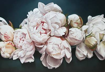 Painting - Peonies 3 by Thomas Darnell