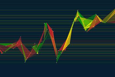 Pepper Polygon Triangle Graph Print by Frank Ramspott