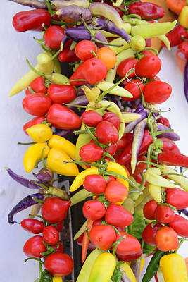 Bellpeppers Photograph - Pepper Variations by Christina Rahm