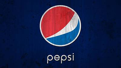 Pop Can Photograph - Pepsi Barn Sign by Dan Sproul