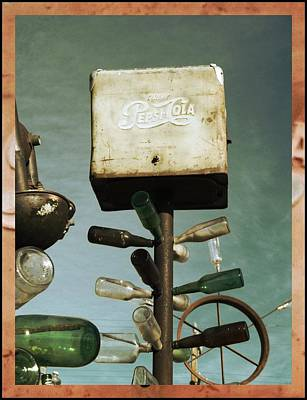Pepsi Bottle Tree - Route 66 Print by Glenn McCarthy Art and Photography