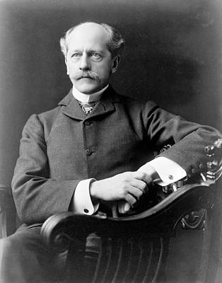 Percival Lowell Print by Library Of Congress