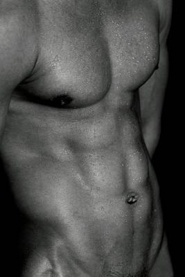 Homoerotic Photograph - perfect Angle  by Mark Ashkenazi
