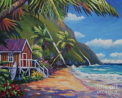 Oahu Painting - Perfect Day by John Clark