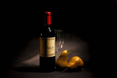 Fine Wines Photograph - Perfect Pairing by Peter Tellone